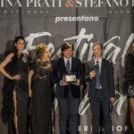 Anton Giulio Grande premiato al festival della moda a Roma