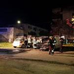 Auto incendiate nella notte a Catanzaro, indagini Carabinieri