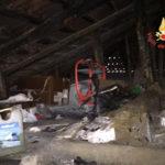 Fiamme in un sottotetto a Nocera Terinese, danni ma nessun ferito