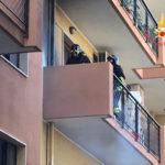 Incendio su balcone ambulatorio Asp a Soverato, nessun ferito