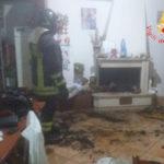 Soverato: incendio, in fiamme abitazione un ferito