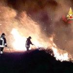 Incendio distrugge Macchia mediterranea a Nocera Terinese
