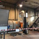 Fabbrica abusiva di pellet sequestrata nel Cosentino