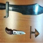 Spada e coltello in auto, denunciato giovane a Catanzaro