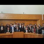 """Lamezia: Ciak5, processo simulato degli alunni dell'I. C. """"S. Eufemia"""""""