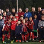 Lamezia: atleti Adelaide Milan Academy con mister Pisani