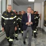 Catanzaro: Visita del Capo del Corpo Nazionale dei Vigili del Fuoco