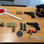 Armi: blitz tra casolari nel Vibonese, trovato arsenale; 2 arresti