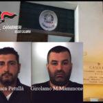 Arrestati dai carabinieri autori rapina ad un minimarket nel Reggino