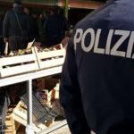 Commercio: blitz in mercato rionale Crotone, sequestri e sanzioni