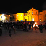 Spezzano Albanese: chiuso il rito dei falò di San Giuseppe