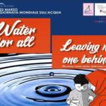 Iniziative Arpacal in Calabria per la Giornata Mondiale dell'Acqua