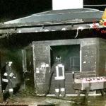 Incendi: chiosco bar distrutto nella notte a Gizzeria Lido