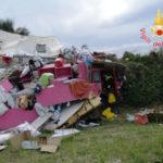 Incidenti stradali: un autocarro finisce fuori strada nel Catanzarese