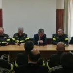 Catanzaro: incontro con il capo del corpo nazionale dei vigili del fuoco