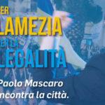 Lamezia: Mascaro mercoledì in piazza Mazzini incontra i cittadini