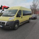 Scuolabus comunale senza assicurazione sequestrato nel Vibonese