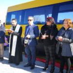 Crosia: Dopo furto, Sindaco Russo consegna nuovo Scuolabus