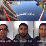 Furti: tre rumeni arrestati dai Carabinieri nel Reggino