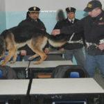 Controlli della Polizia nelle scuole contro spaccio stupefacenti