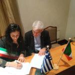Turismo: firmato in Grecia patto amicizia Cosenza-Salonicco