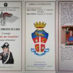 Furti e truffe in casa: i consigli dell'Arma dei Carabinieri
