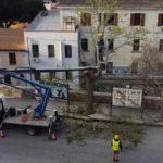 Catanzaro: via Piave, partiti lavori rifacimento marciapiede