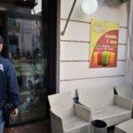 Reggio C.: danneggia negozi 48enne arrestato dalla Polizia