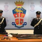 Armi: sequestrato arsenale nel Vibonese, un arresto e una denuncia