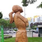 Bruciata statua dedicata a partigiana nel Milanese