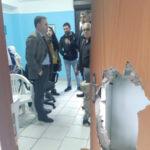 """Villa, sede dell'Avis distrutta, sindaco """"atto indegno da condannare"""""""