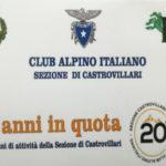Castrovillari: i 20 anni del Cai nel capoluogo del Pollino