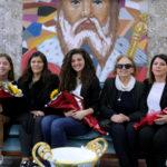 Cosenza: ricevute in comune ragazze del Liceo Telesio premiate