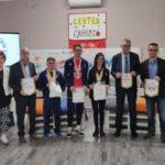 Lamezia: atleti Lucky Friends premiati dal Presidente Badminton