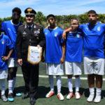 "Reggio Calabria: l'Arma dei Carabinieri abbraccia ""Freed by football"""