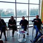 Finissage della mostra 'Forme nel tempo',Cesare Berlingeri si racconta
