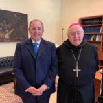 Reggio Calabria: Mons. Morosini saluta il Prefetto Di bari