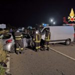 Incidenti stradali: scontro nelle notte tra due auto a Catanzaro