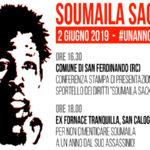 Migranti: Usb ricorderà Soumaila Sacko ad un anno  dalla sua morte