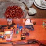 Criminalità: Reggio, armi e droga sequestrate nel rione Ciccarello