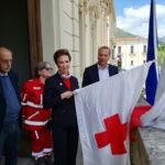 Castrovillari: comune ospita la bandiera crociata della Croce Rossa