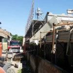 Incidenti lavoro: operaio schiacciato da cemento a Piacenza, grave