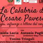 """Lamezia, venerdì 31 al Chiostro """"La Calabria di Cesare Pavese"""""""