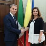 Catanzaro: Cardamone incontra diplomatici della Romania e Cuba