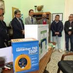 Sicurezza scuola: Ancri dona defibrillatore istituti Paola e Rossano