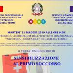 Lamezia: corso primo soccorso Costanzo Nicotera