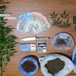 Sorpreso con 600 grammi di droga, arrestato dai carabinieri