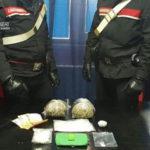 Droga: 48enne reggino  incensurato arrestato dai Carabinieri