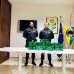 Droga: sequestrati 53 kg cocaina nel porto di Gioia Tauro