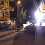 Incendi: due autovetture a fuoco nel comune di Maida